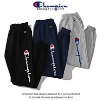 Champion Popular Women Men Casual Embroidery Cotton Pants Trousers Sweatpants