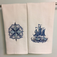 Nautical Dish Towels