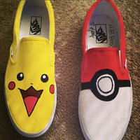Custom Pokemon Shoes
