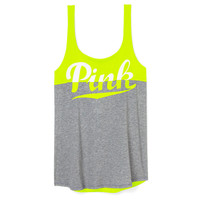Low Back Tank - PINK - Victoria's Secret