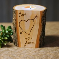 Love Forever Candle