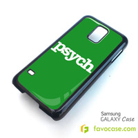 PSYCH Detective Agency Samsung Galaxy S2 S3 S4 S5, Mini, Note, Grand, Tab Case Cover