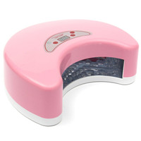 12W Nail Art LED UV Gel Curing Lamp Dryer Timer Gel Polish Manicure Kit
