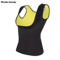 Wonder Beauty Neoprene Sauna Waist Trainer Vest Hot Selling Sweat Belt Body Shaper Weight Loss Fajas Fajas Reductors