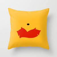 Winnie the Pooh - Winnie Throw Pillow by TracingHorses | Society6