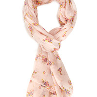 Ditsy Floral Woven Scarf