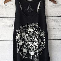 Astronomical Clock Tank Top Shirt