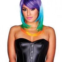 Rainbow Wig Multi-Color