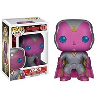 Vision Marvel Avengers Age of Ultron Pop! Marvel Funko NIB new in box 71