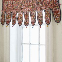 One-Of-A-Kind Mirrored Window Valance - Multi One