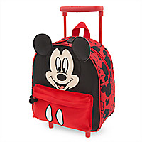 Mickey Mouse Clubhouse Rolling Luggage - Small