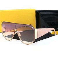 FENDI Casual Popular Summer Sun Shades Eyeglasses Glasses Sunglasses
