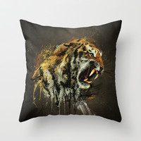 Ty-Ga Throw Pillow by Emiliano Morciano (Ateyo)