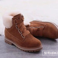 DCCK UGG Women Fashion Fur Leather Winter Snow Boots Shoes