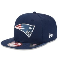 New Era New England Patriots 2015 Draft Collection 9FIFTY Original Fit Snapback Cap - Adult, Size: One Size (Blue)