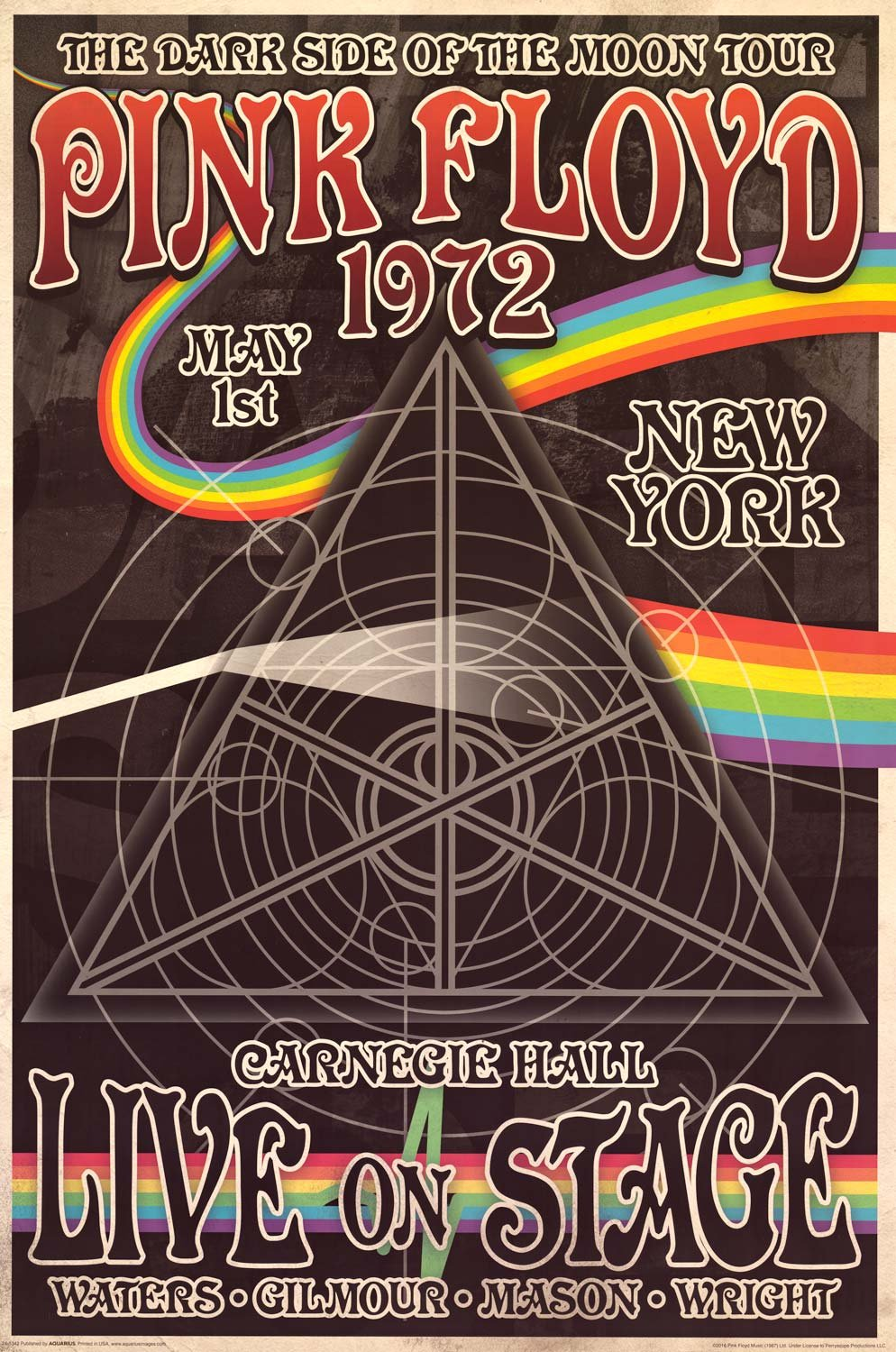 Image of Pink Floyd Concert Poster 24x36
