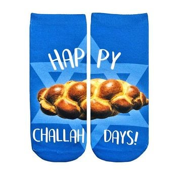 Challah Day Ankle Socks