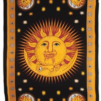 Sun and Moon Tapestry (vertical)