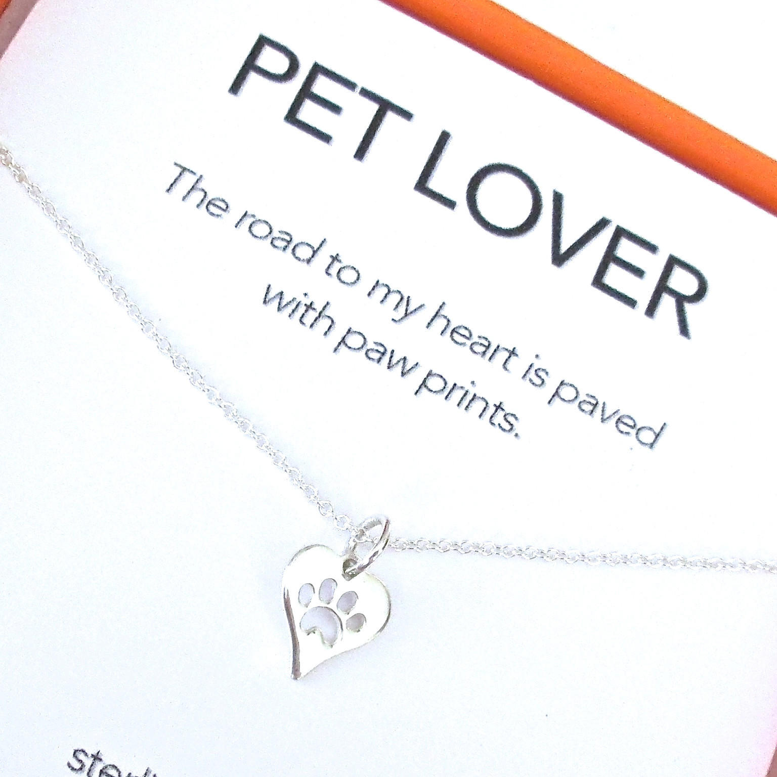 Image of Pet Lover II Charm Necklace Set