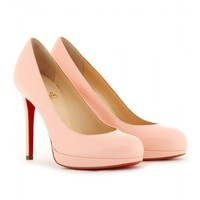 mytheresa.com -  Christian Louboutin - PUMPS NEW SIMPLE 120 IN PELLE - Luxury Fashion for Women / Designer clothing, shoes, bags