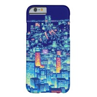 8-Bit City Lights (iPhones & Androids) Barely There iPhone 6 Case