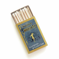 Paradise Lost Matchbox - Literary Matches - John Milton - Great English Poetry Book Gift - Pair with a Travel Candle - Light a Classic Spark