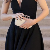Black Sweetheart Mini Homecoming Dresses