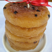Chocolate Chip Cookie Candle Pillar Candle Tower