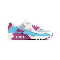 Nike Women's Air Max 90 Vivid Pink Grey