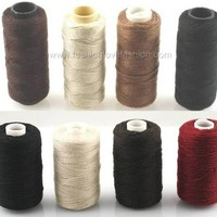 1 Spool Hair Extension Sewing/Braid/Weaving Decor Thread 5 Color/Size Options