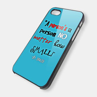 Dr. Seuss Quote iPhone iPhone Case And Samsung Galaxy Case