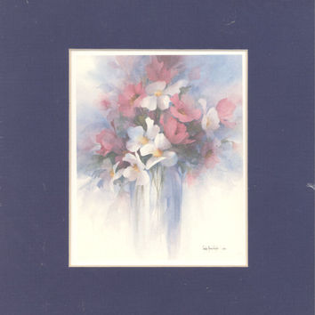 Fantasy 8 x 7 matted lithograph