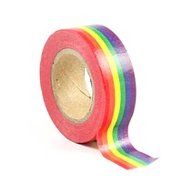 Vivid Rainbow Stripe Washi Tape