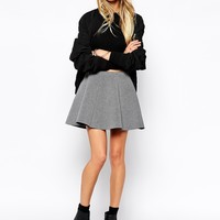 Noisy May Structured Mini Skirt