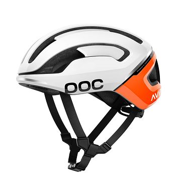 POC, Omne Air Spin Bike Helmet for Commuters and Road Cycling, Lightweight, Breathable and Adjustable Zink Orange AVIP Large