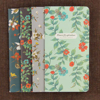 1pcs Notepad Retro Dancing Butterflies Series Notebook Stationery The Kraft Paper Blank Diary Book Office School Supplies