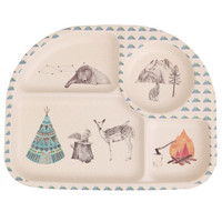 Bamboo Dinnerware - Forest Feast - (FDA & LFGB food safe approved)