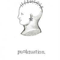Punktuation Card Funny Grammar Writer Editor Punk Puns Humor Punctuation Black And White Nerdy Hipster Weird For Him For Her Geekery