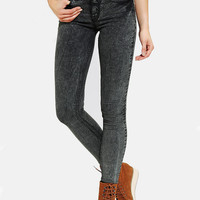 BDG Twig Mid-Rise Jean - Grey Acid - Urban Outfitters