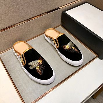 Gucci2021 Men Fashion Boots fashionable Casual leather Breathable Sneakers Running Shoes0531ff