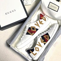 Gucci Casual And Casual White Shoes Various Styles-1