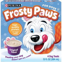Purina Frosty Paws Original Flavor Dog Treats 13 fl. oz. Box - Walmart.com