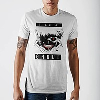 Tokyo Ghoul I Am Ghoul Mens Wh  T-Shirt