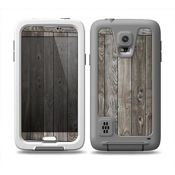 The Wooden Wall-Panel Skin for the Samsung Galaxy S5 frē LifeProof Case