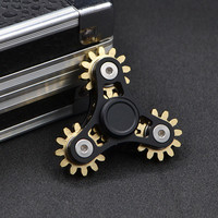 Metal Toothed Gearing Anti Stress Fidget Spinner