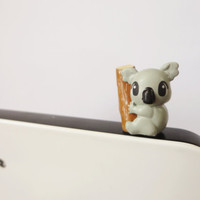 Cute koala bear IPhone & earphone dust plug -  Cellphone Accessories