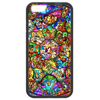 Disney All Characters Stained Glass Iphone 6/6s (4.7-inch) TPU+PC Case