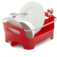 Dorm Decor Chore I Can Dish Rack in Red by ModCloth
