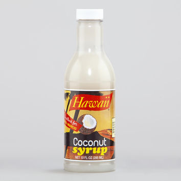 Flavors of Hawaii Coconut Syrup - World Market