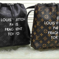 LV fashion letters backpack[380479373348]